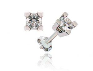 Pendiente Diamantes