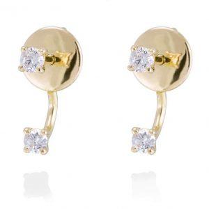 Pendientes TUyYO Diamantes en Oro